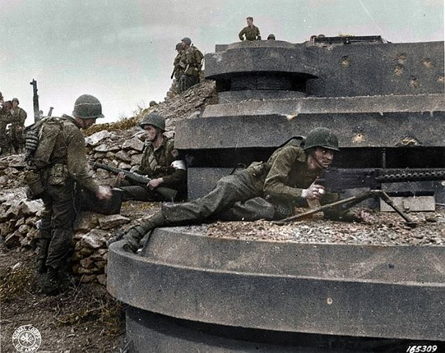 The_ww2_memoirs Us Army Rangers Await Reinforcements And Supplies After Taking Pointe Du Hoc Sustaining Multiple Casualties June 6th 1944