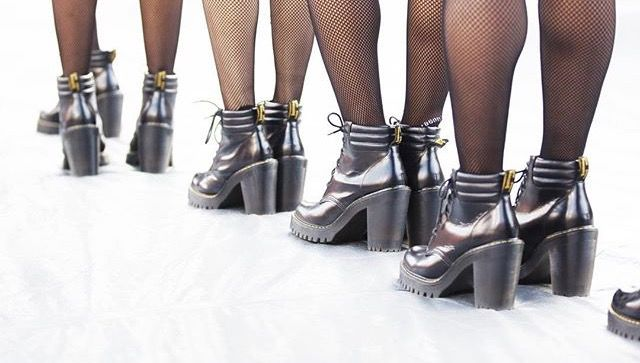 Beyoncé back up dancers' beautiful Dr Martens Persephone