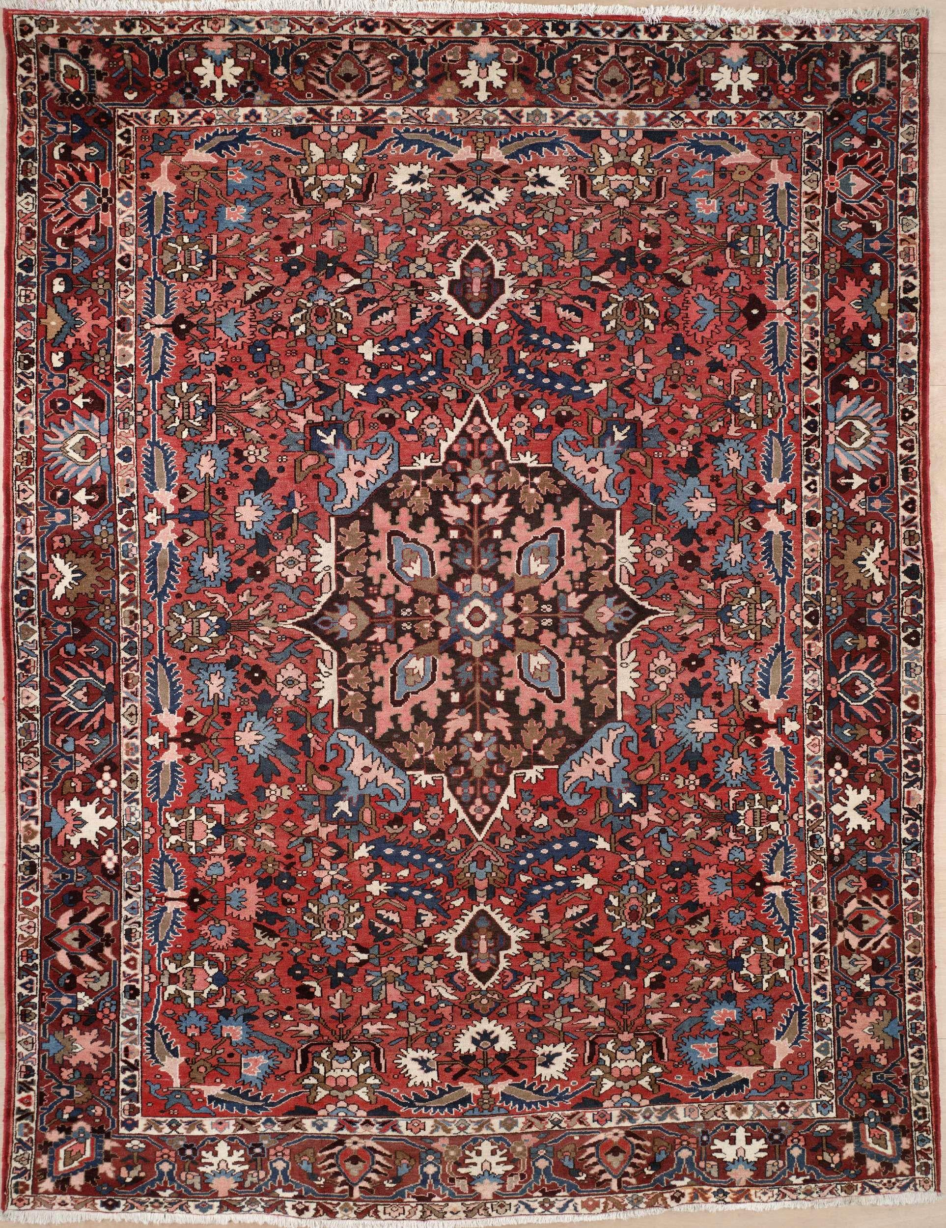 Semi Antique Persian Bakhtiari Area Rug 2020 Area Rug With