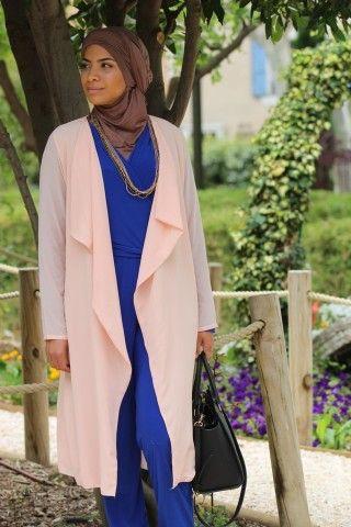 Collection de Capes et Cardigans - Vêtement fashion pour femme musulmane -  Mayssa 6d045e3b5fff