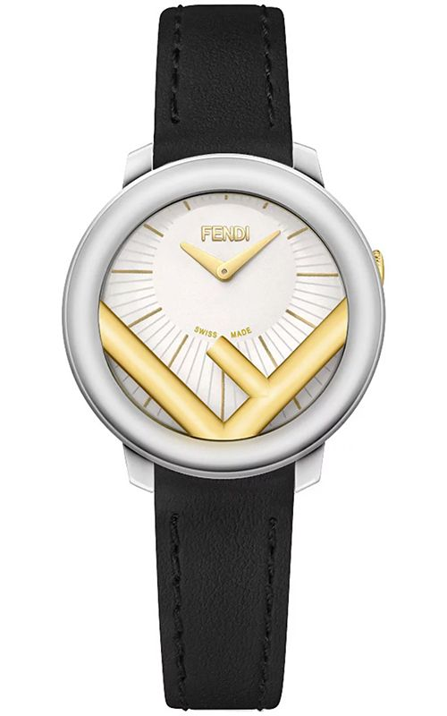 Fendi Run Away 28mm Two Tone White Dial Watch F710124011  968d6a006e90