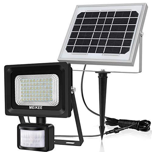Offerta Di Oggi Meikee Faretto Solare Con Sensore Di