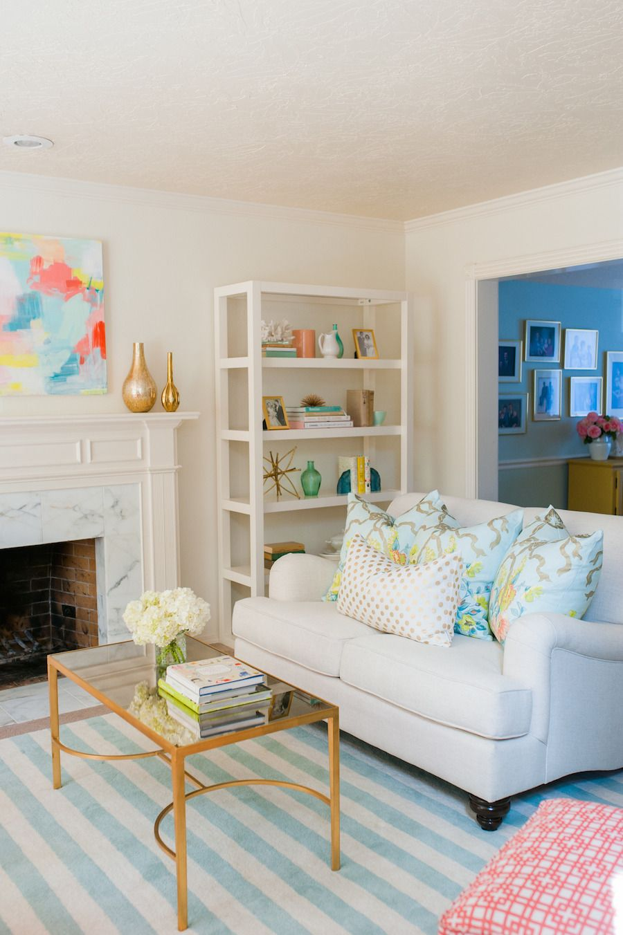 Read More httpwwwstylemeprettycomliving20141027whimsical living room full of color Whimsical Living Room