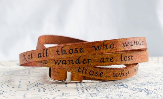 Not all those who wander are lost  Ultra Long by Cjohannesen, $29.00