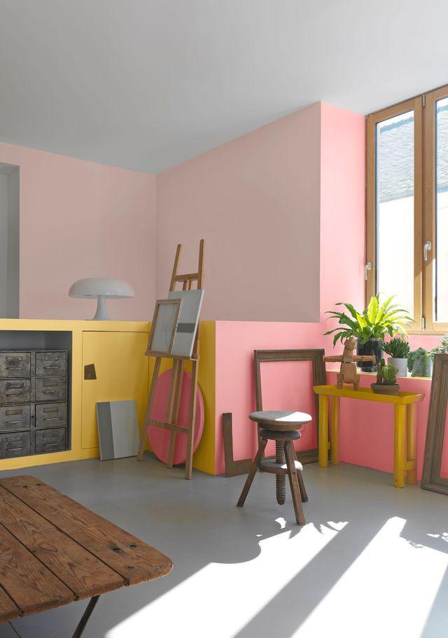 Peinture  des couleurs chaudes pour repeindre ses murs Rosas - couleur chaude pour une chambre