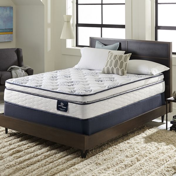 Serta Perfect Sleeper Ventilation Pillowtop Full Size Mattress Set