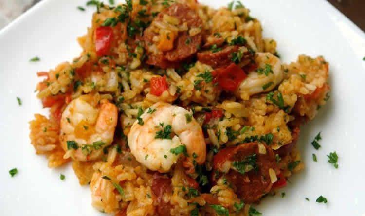riz crevettes et chorizo au cookeo - un délicieux plat avec le cookeo.