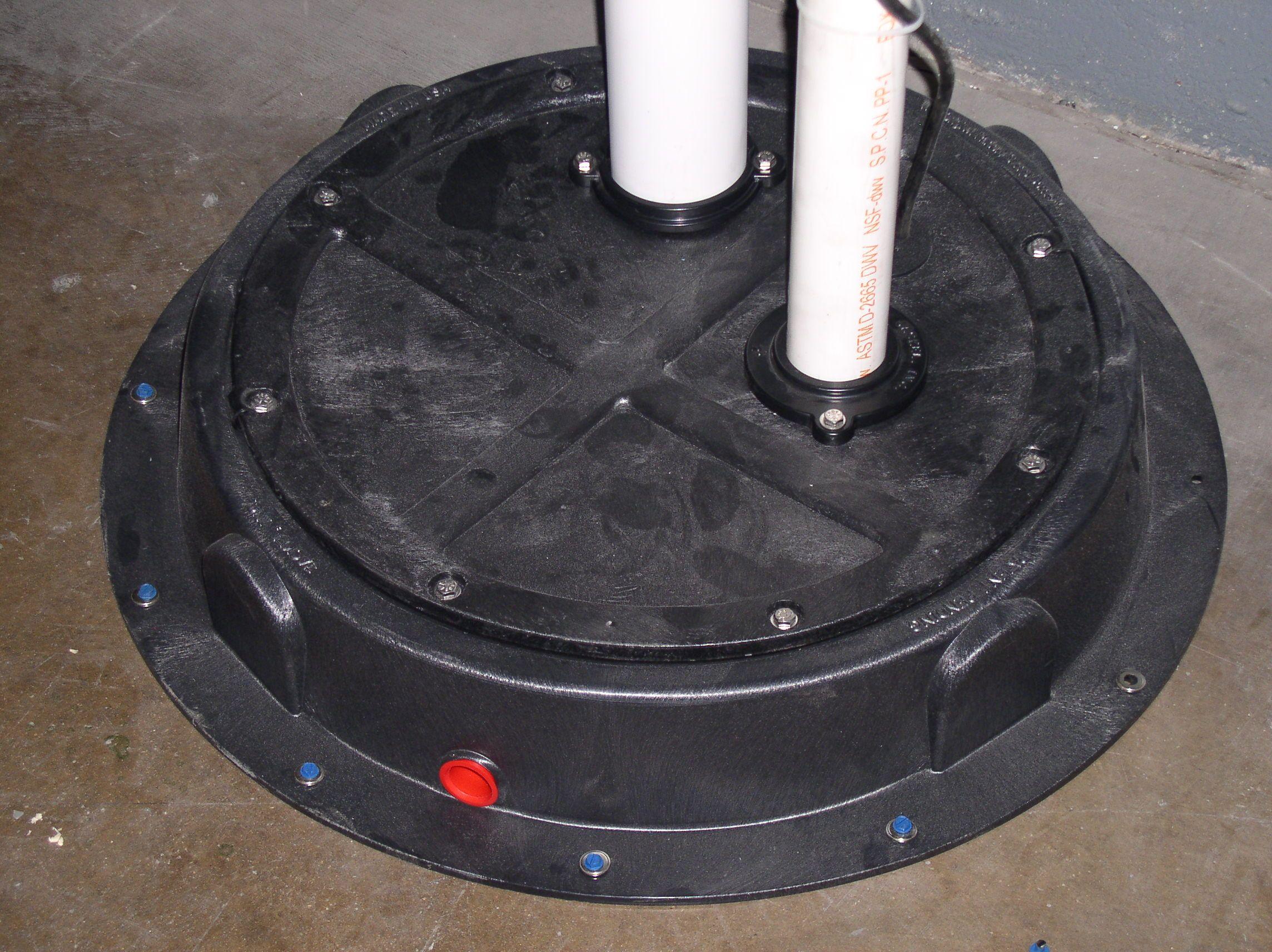 Plumbstar Usa Original Radon Sump Dome Plumbed Up Radon Mitigation Home Improvement Radon