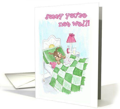 Cute get well greeting card sick bunny rabbit up to 350 http cute get well greeting card sick bunny rabbit up to 350 http bookmarktalkfo Choice Image
