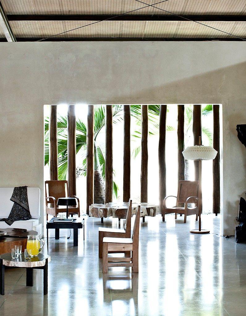 L\'esprit atelier dans un hangar - Elle Décoration | Interiors, Woods ...