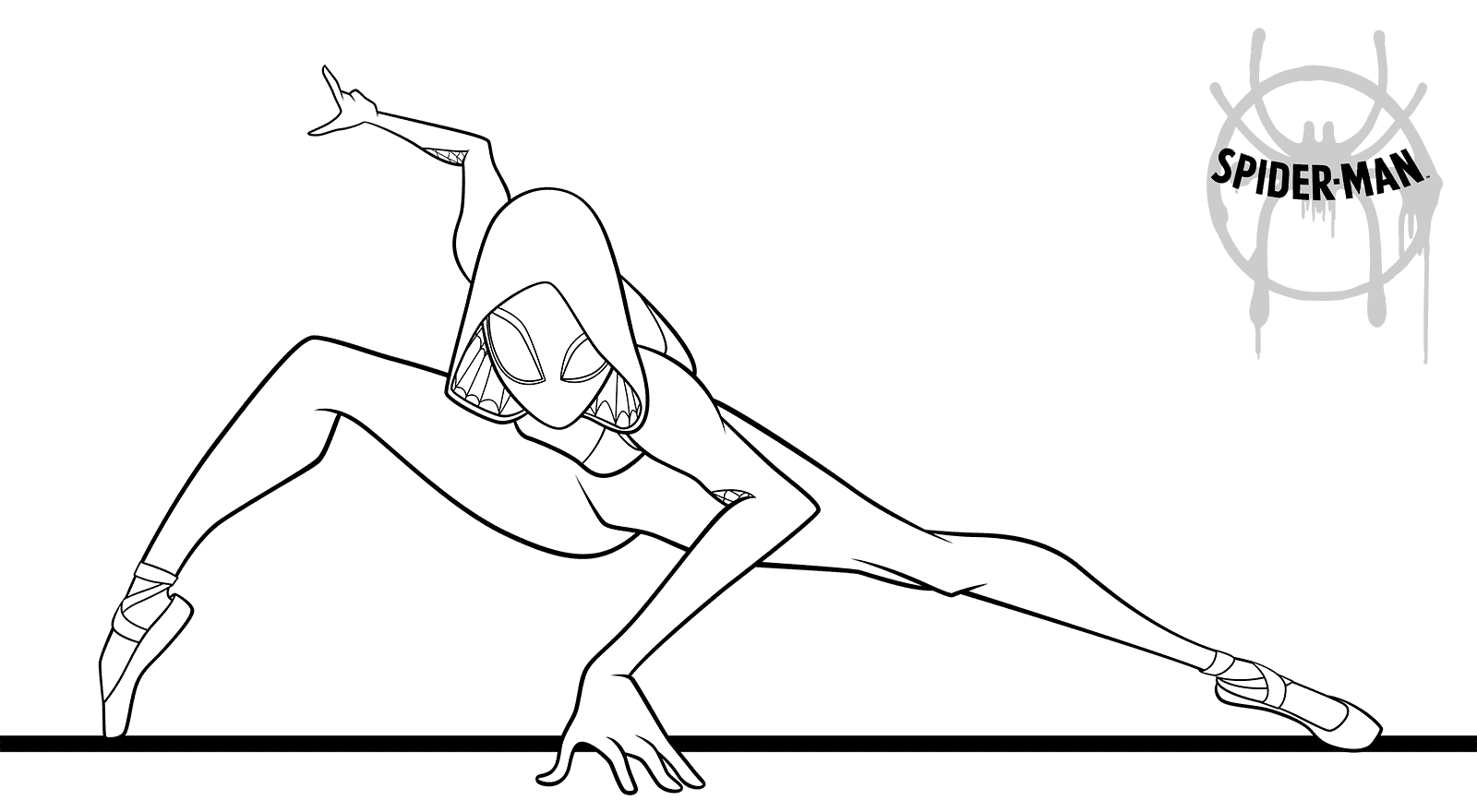 Spider Girl Coloring Page Coloring Pages Coloring Pages For Girls Spider Girl