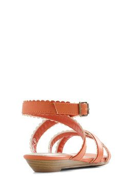 Carrot Crop Sandal, #ModCloth $34.99