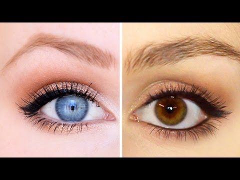 Make Up Fur Braune Blaue Augen Mit Barbieloveslipsticks Braune Augen Schminken Dunkelbraune Augen Schminken Braune Augen