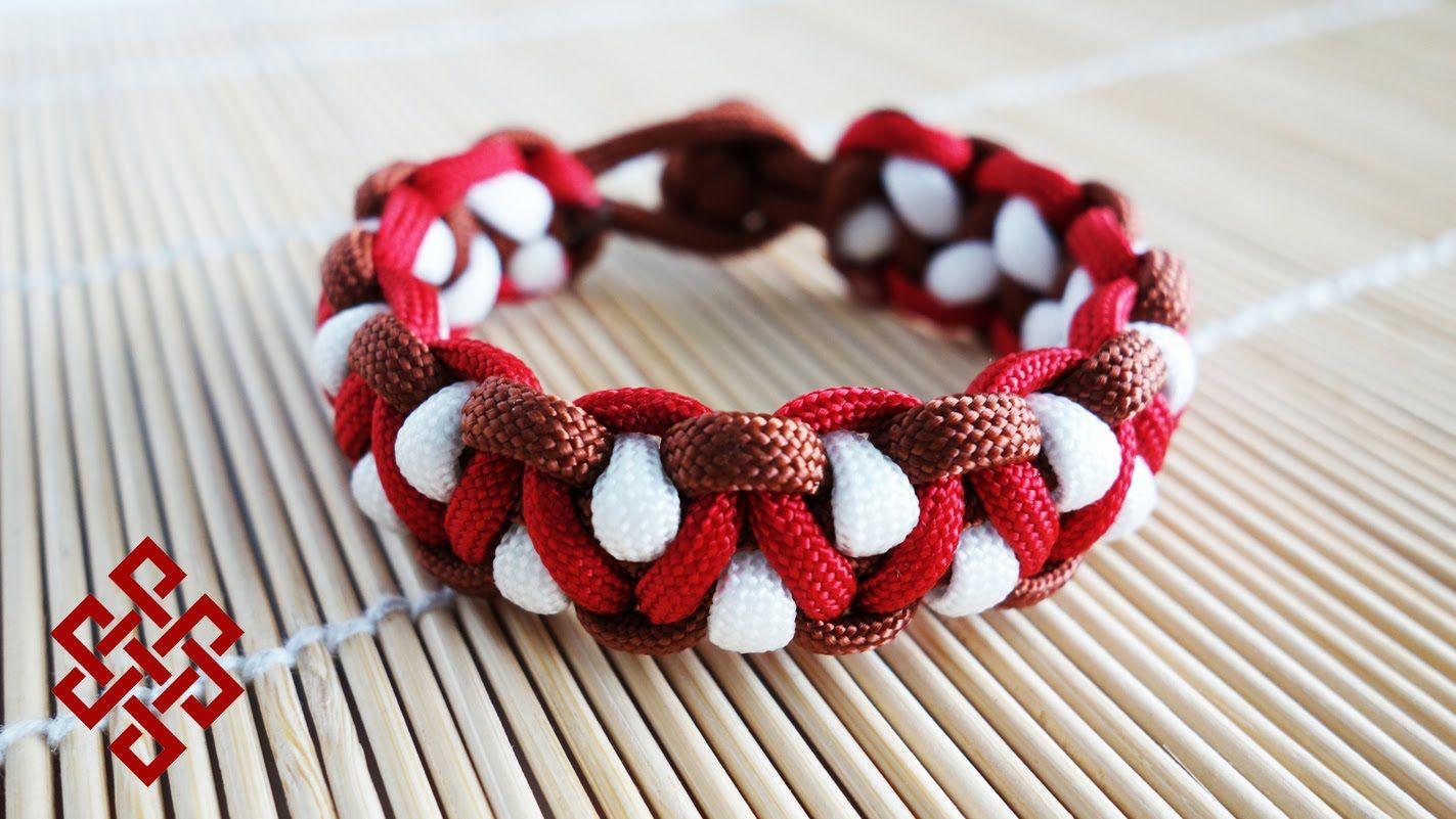 Basket Weave Paracord Bracelet Tutorial : Solomon s dragon paracord bracelet tutorial here my take