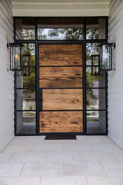 Elton Lane Contemporary Entry House Front Door Design House Entrance