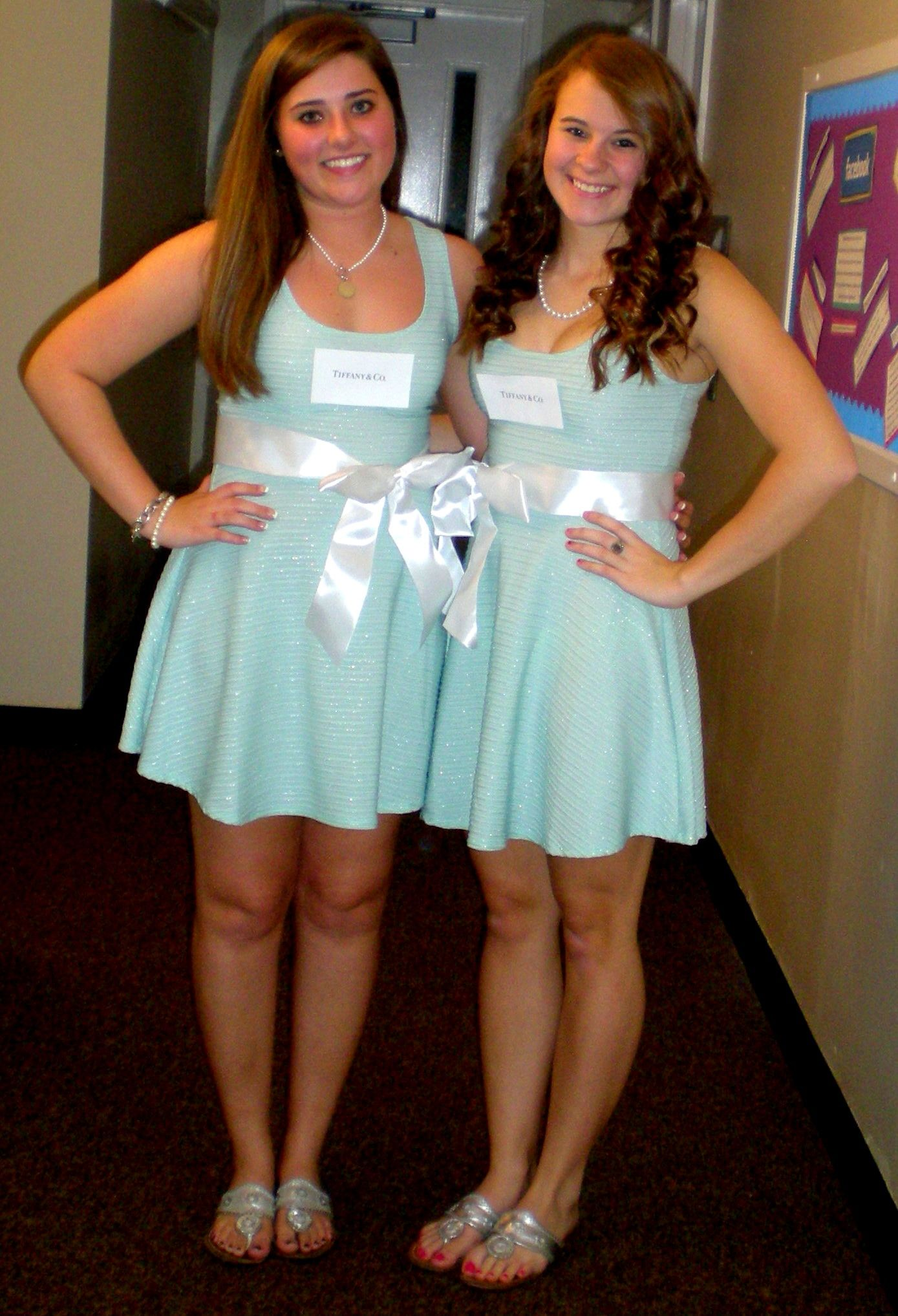Group Costumes | Tiffany Boxes... ohmgee can't beleive I've never ...