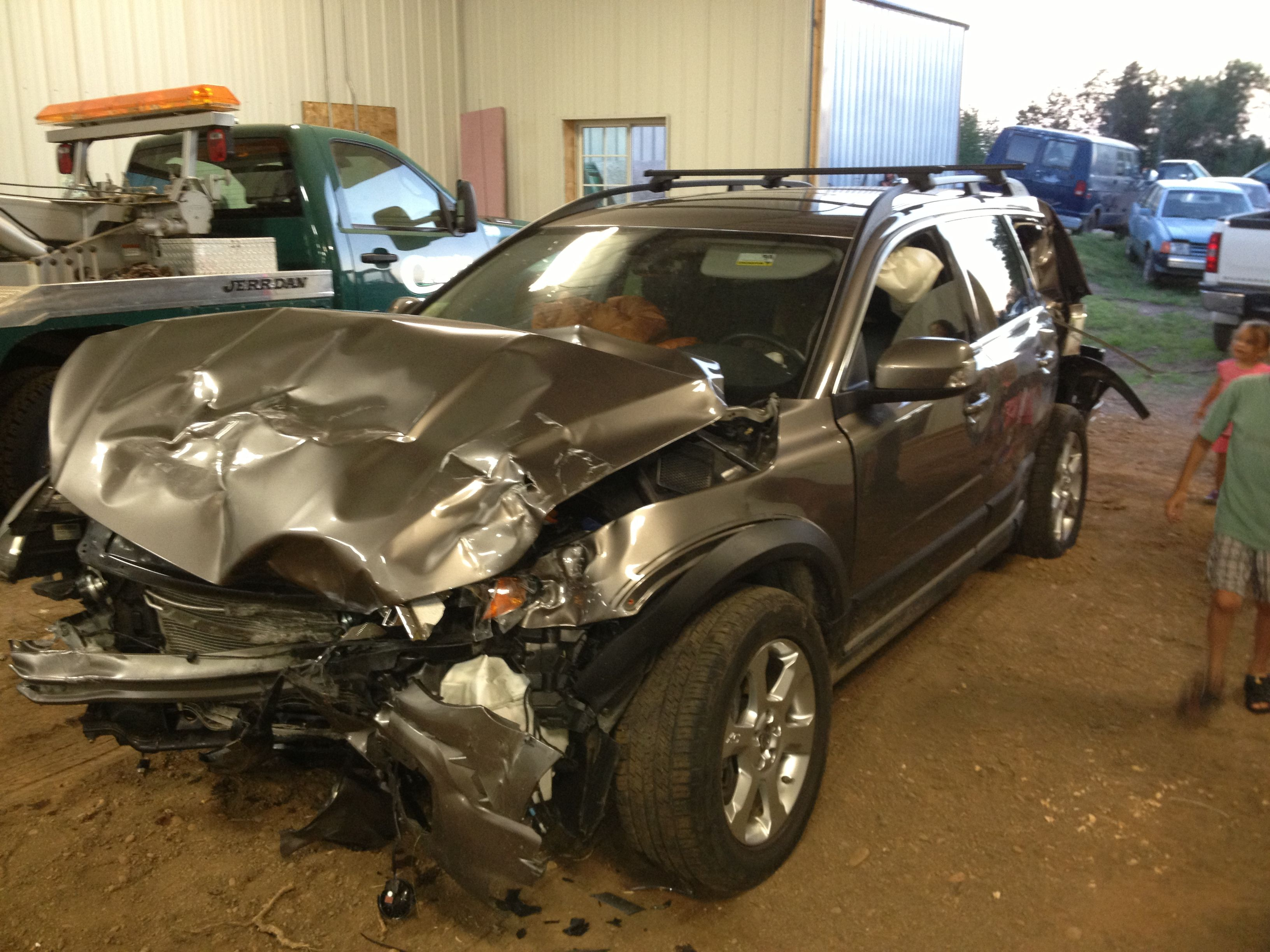 Safest car color accidents - Find This Pin And More On Volvo Crash