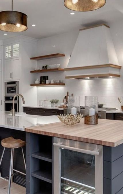kitchen island bar ideas open concept 22 ideas for 2019 kitchen design open trendy farmhouse on kitchen remodel with island open concept id=73665
