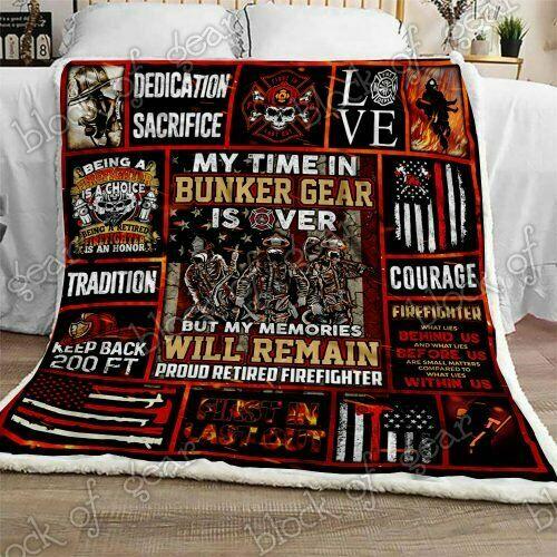 Viking Fleece Blanket 50x60x80 Made In US