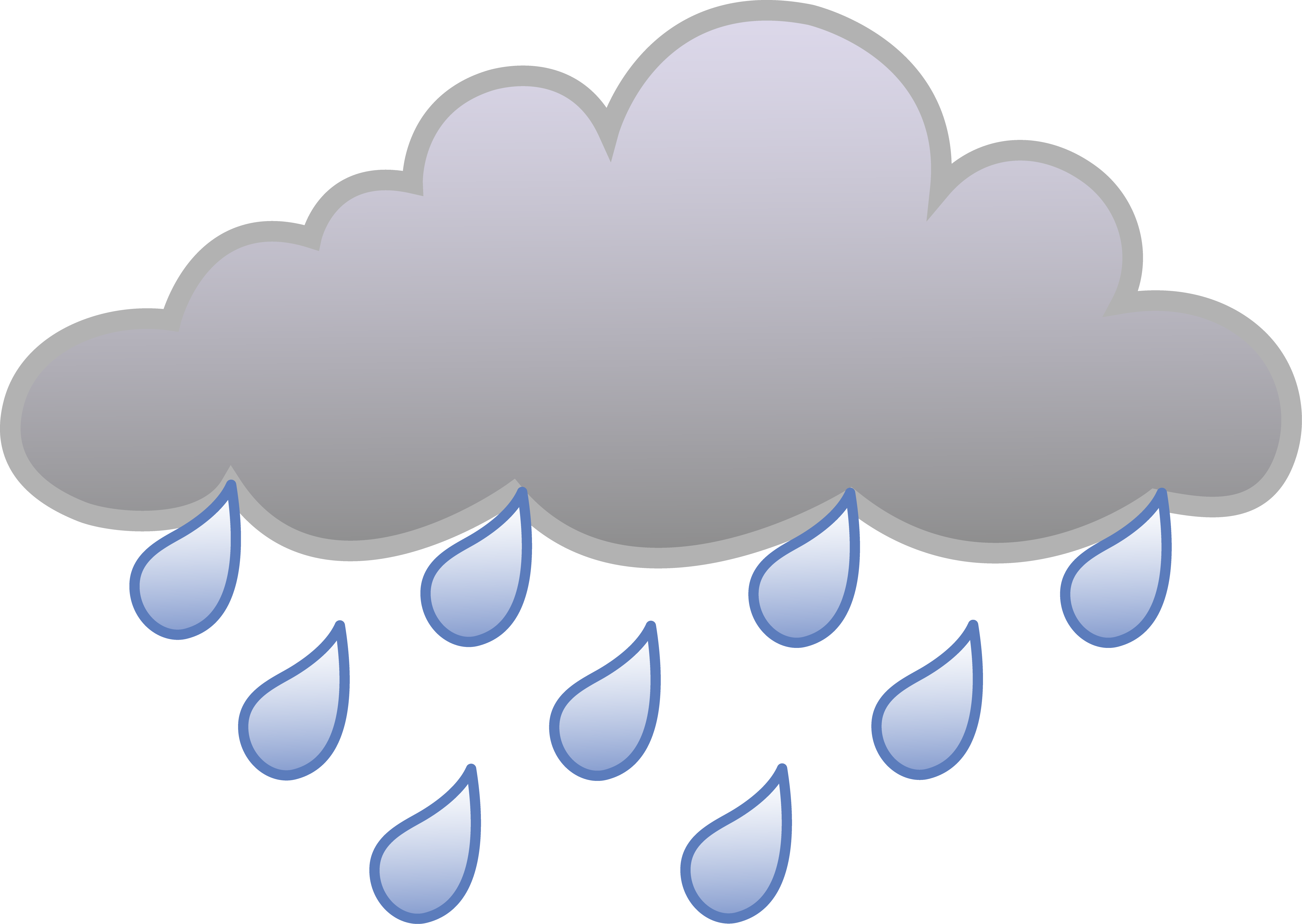 hight resolution of free weather rain cloud weather symbol free clip art
