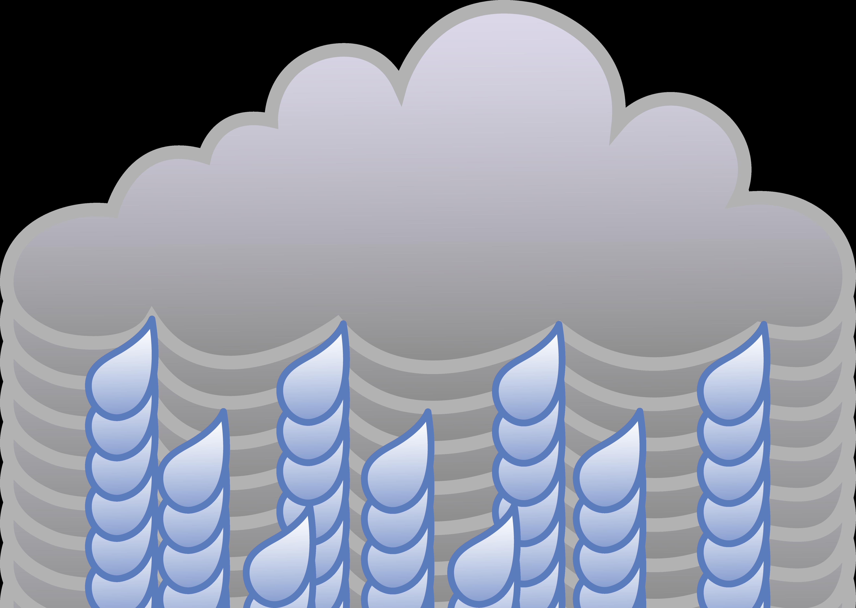 Free Weather Rain Cloud Weather Symbol Free Clip Art