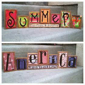 SAWDUST SANITY: Summer Fun / 4th of July (Finally)