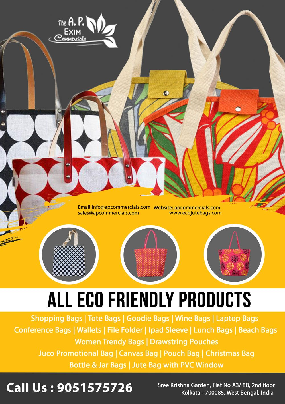 Eco Friendly Products | Jute Bag | Jute bags manufacturers, Jute