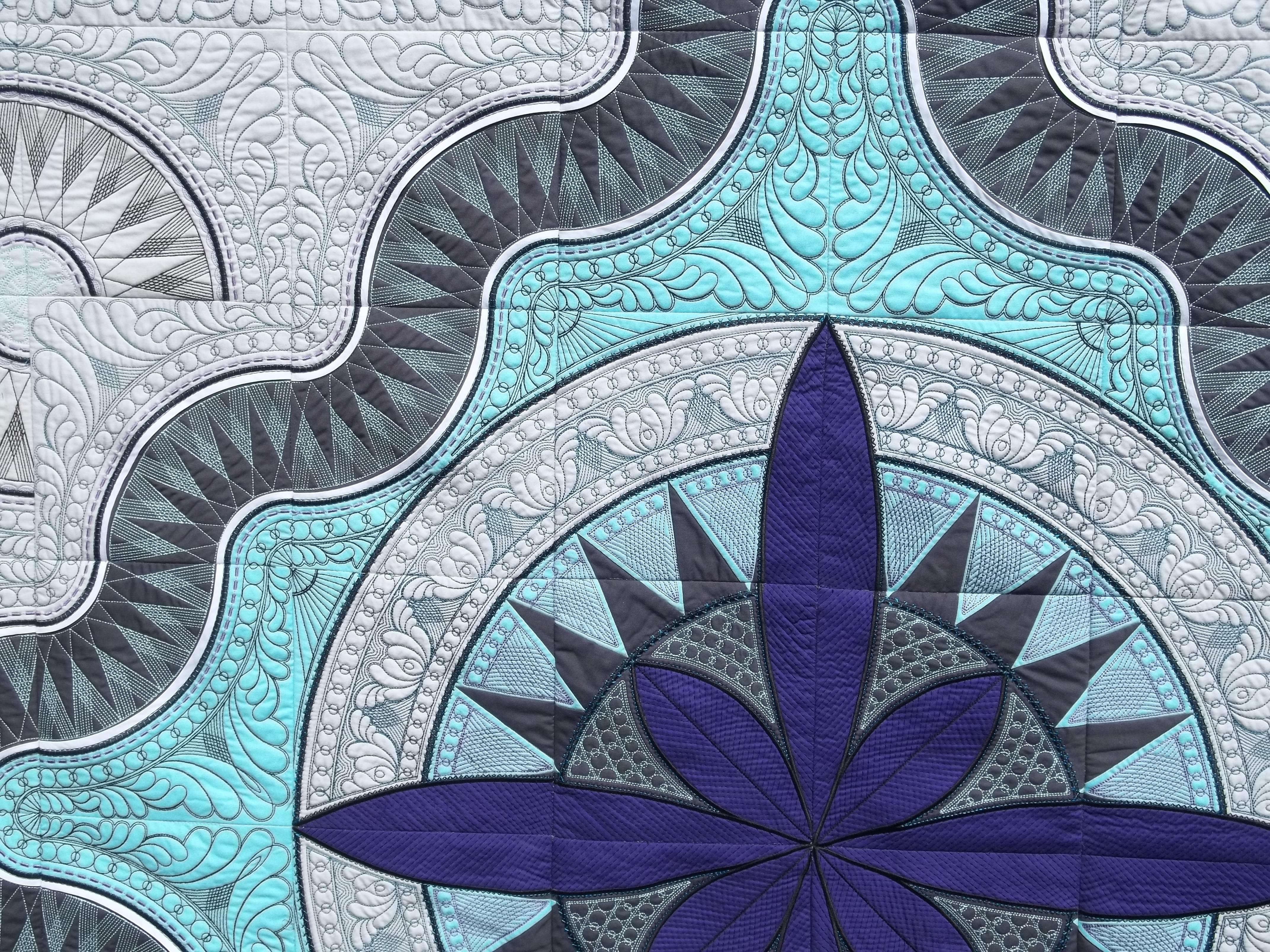 Jacobean Journey Quilt - detail   Stuff I've Made   Pinterest ... : jacobean quilt - Adamdwight.com