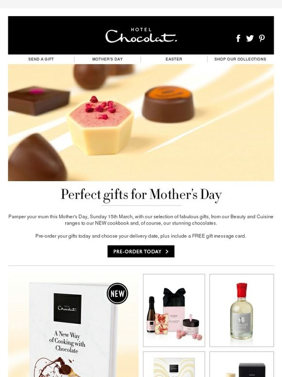 Pre order your mothers day gifts today hotel chocolat identity pre order your mothers day gifts today hotel chocolat negle Gallery