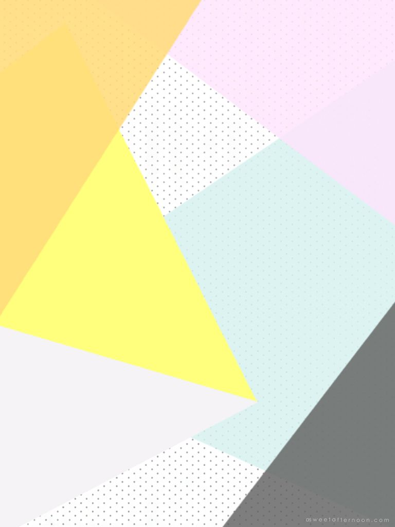 Geometric Triangles Desktop Wallpaper Vertical Ipad 768x1024