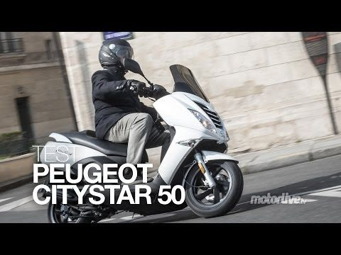 test peugeot citystar le gt du scooter 50 youtube. Black Bedroom Furniture Sets. Home Design Ideas
