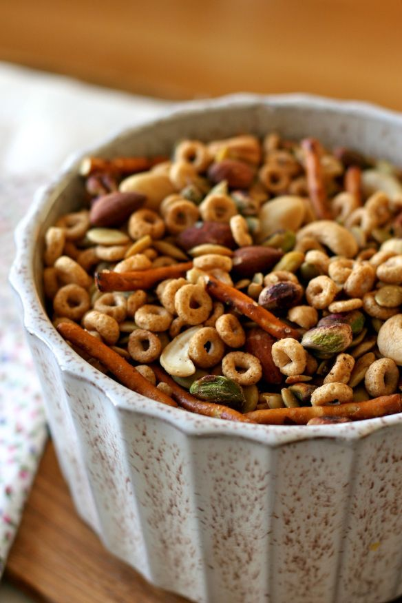 snack mix. Super good! I put triple the seasonings on it which made it triple awesome.