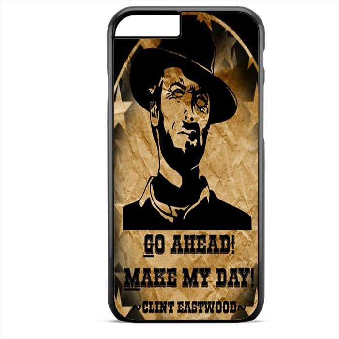 Go A Head Make May Day Clint Eastwood TATUM-4737 Apple Phonecase Cover For Iphone SE Case