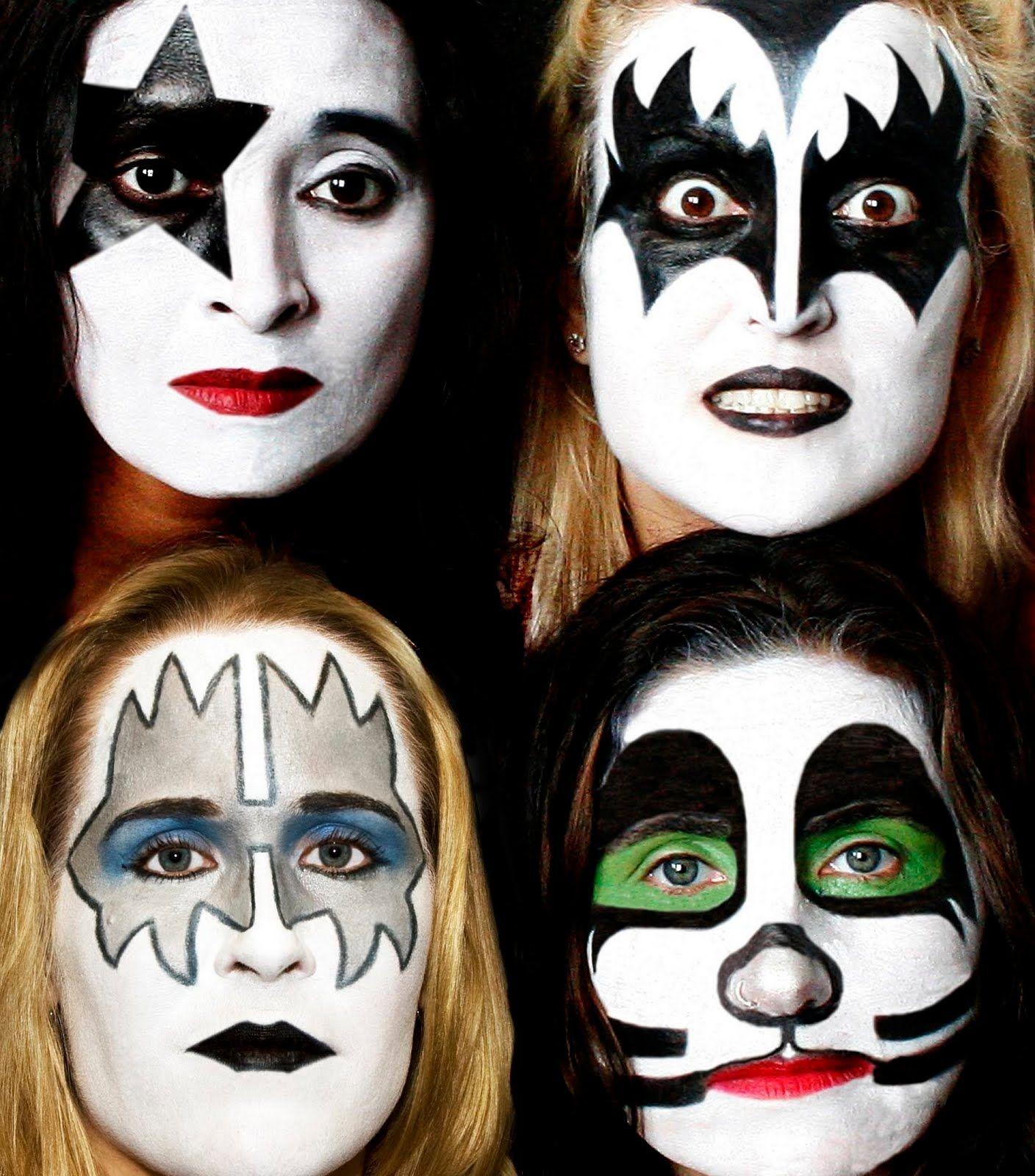 Resultado De Imagem Para Kiss Band Makeup With Images Kiss