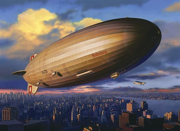 Pictures Of The Hindenburg In Color