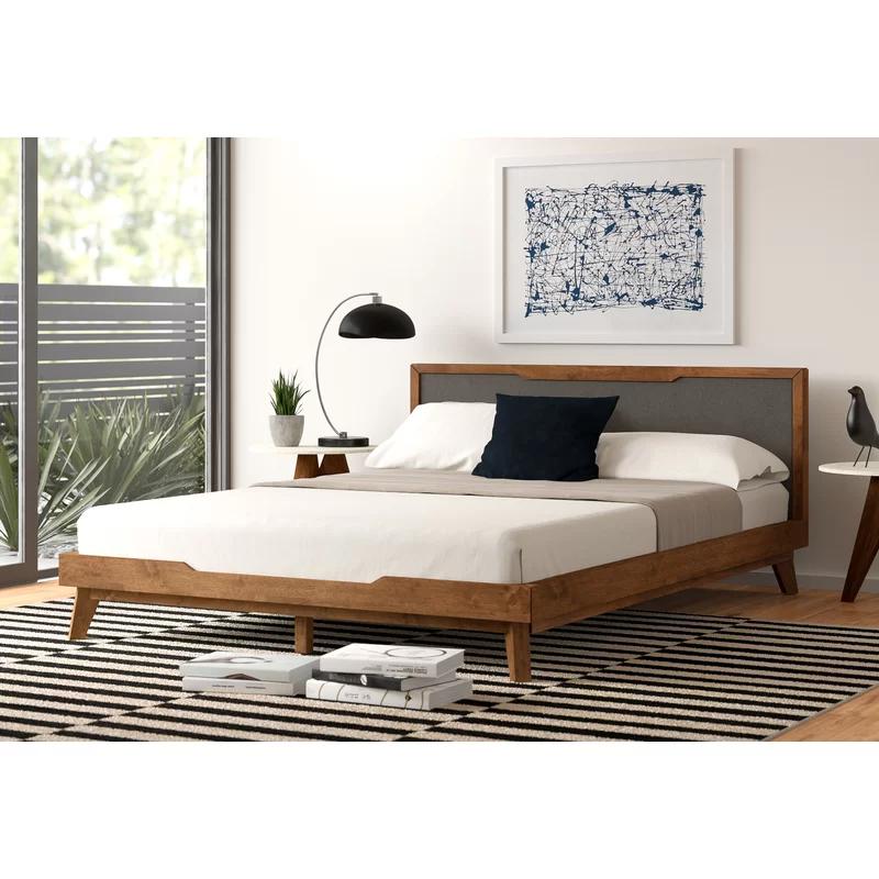 Jette Low Profile Platform Bed In 2021 Upholstered Platform Bed Platform Bed Sets Upholstered Beds Low profile king bed frame