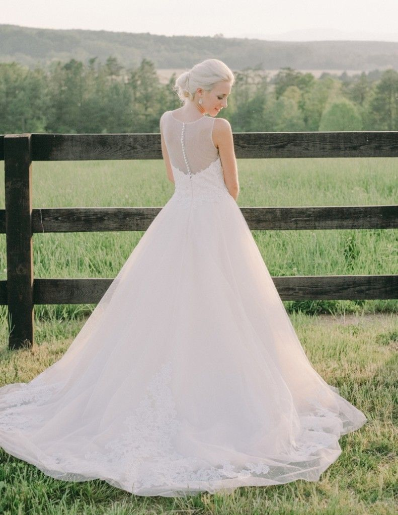 Jason Keefer Photography Mount Ida Farm New Mountain View Ceremony Site Scottsville Va Gown By Bella