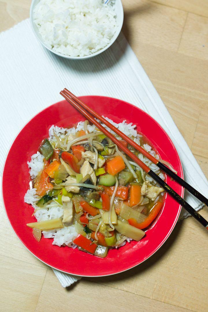 Met Dit Recept Van Tjap Tjoy Hoef Je Niet Meer Naar De Chinees Maak Het Zelf Want Het Is Veel Gezonder En Veel Lekkerder En Heel Voedsel Ideeen Lekker Koken