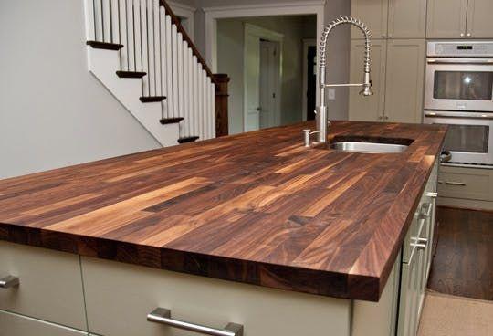 The Ultimate Guide to Countertops | Pinterest | Holzarbeiten und Küche
