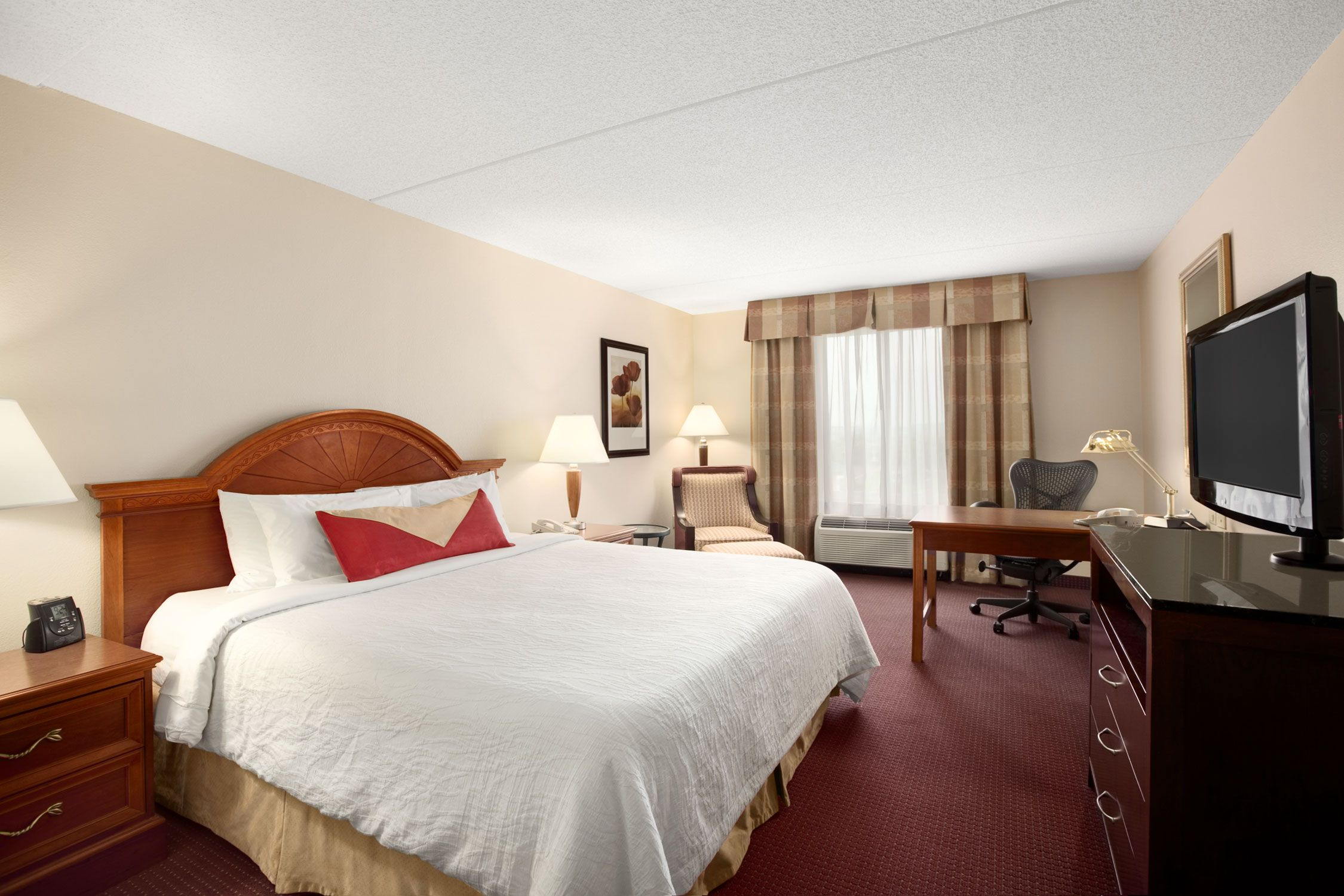 standard room with one king bed hotels pinterest