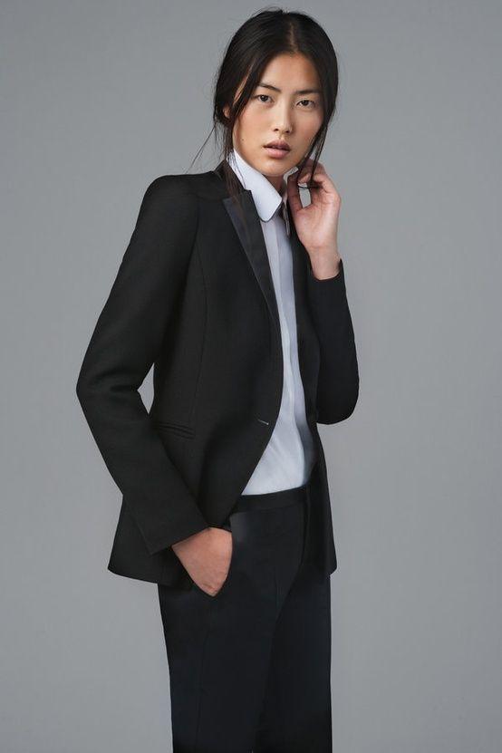 smart sleek work outfit suit women fall 2012 zara minimalism style young professional