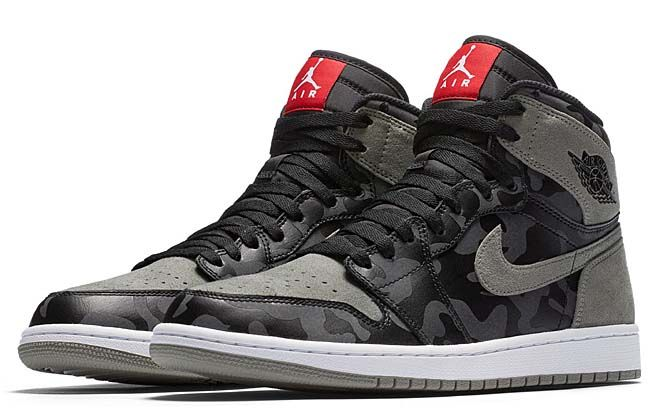huge discount 014f4 2fdf3 NIKE AIR JORDAN 1 RETRO HIGH PREM BLACK  BLACK-DARK STUCCO-WHITE AA3993- 034