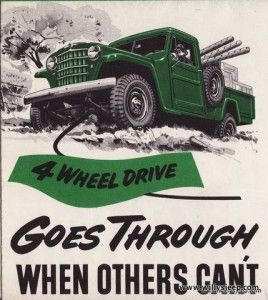 Vintage Willy's Ad