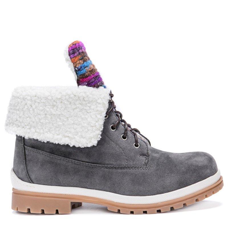 MUK LUKS Womens Megan Boots Fashion