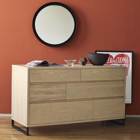 Hudson 6 Drawer Dresser With Size