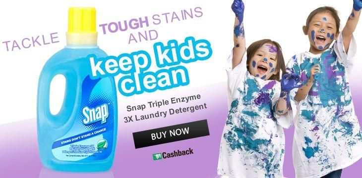 Clean The Toughest Stains While Being Gentle On Your Clothing With Snap Triple Enzyme 3x Laundry Detergent Three T Kids Cleaning Laundry Detergent Tough Stain