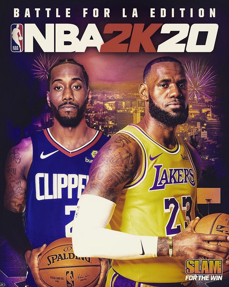 Who would cop this cover for NBA 2K20? 🎮🔥 Basketball
