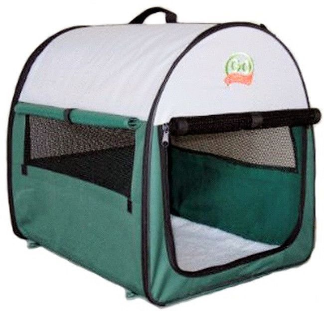 "Soft Crate Green 48"" (AG48) Soft dog crates"