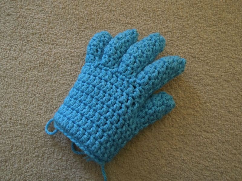 Crochet Finger and Fingerless/Half Finger Glove Pattern ...