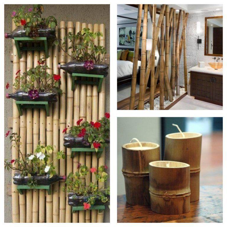 Bricolage bambou : des idées créatives réalisées avec du bambou!
